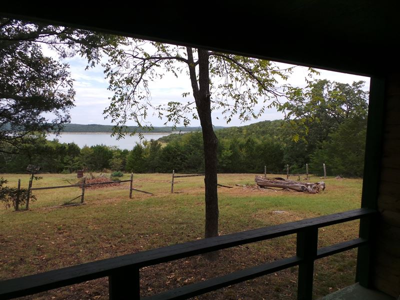 Overlooking Sunset Cove Bull Shoals : Yellville : Marion County : Arkansas