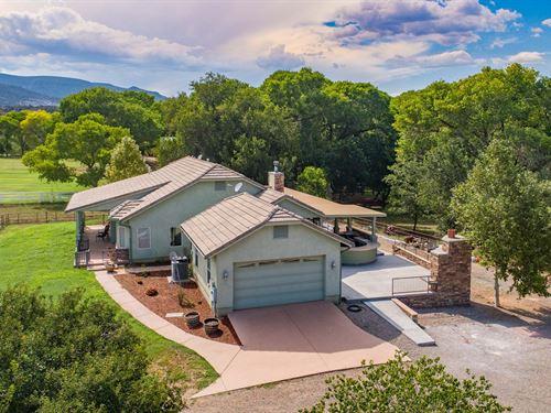 Riverfront Ranch / Equine Property : Camp Verde : Yavapai County : Arizona
