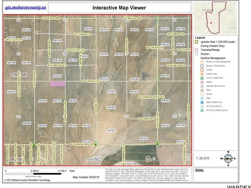 10.44 Acres Sun West Acres Golden : Golden Valley : Mohave County : Arizona
