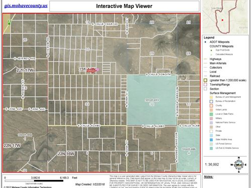 2.12 Acres Kingman Arizona, Sunward : Kingman : Mohave County : Arizona