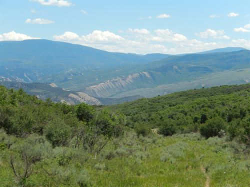 Colorado Mountain Acres Borders Blm : Gypsum : Garfield County : Colorado