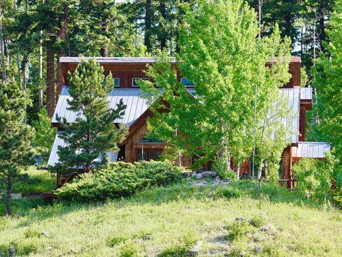 Seasonal Mountain Home Western : Cimarron : Gunnison County : Colorado