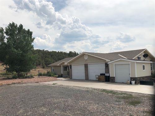 35 Acres, Home, Creek Side : Collbran : Mesa County : Colorado