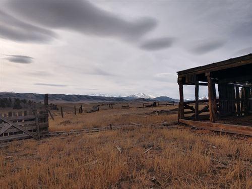 Acreage Recreational Camp Land Como : Como : Park County : Colorado