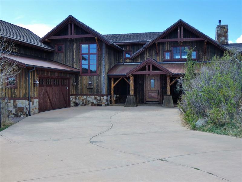 Rustic Mountain Home, 2065 Cowboy : Cotopaxi : Fremont County : Colorado