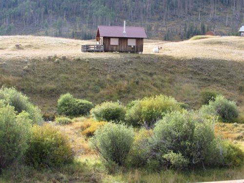 Colorado Mountain Cabin Hermit : Creede : Hinsdale County : Colorado
