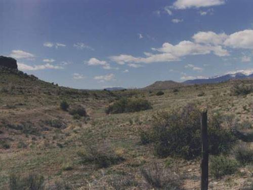 Hillside Homesite River Mountain : Del Norte : Rio Grande County : Colorado