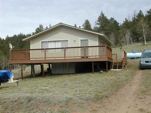 Cabin, Colorado Mountains, Eleven : Lake George : Park County : Colorado