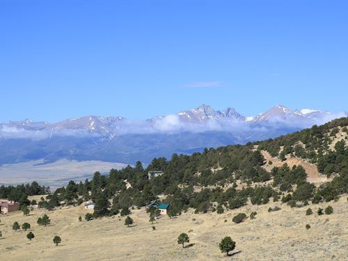 Rocky Mountain Lot With View : Westcliffe : Custer County : Colorado