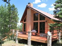 Brick Home in The Mountains : Westcliffe : Custer County : Colorado
