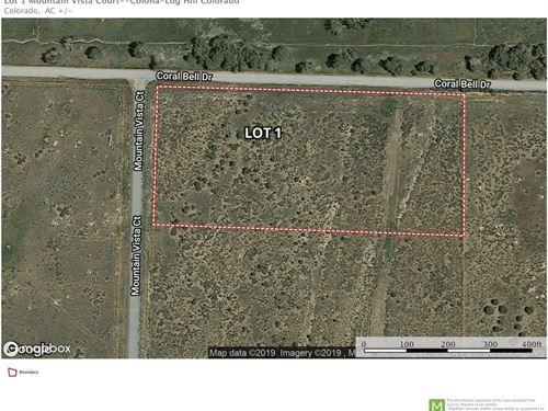 Mountain View Land Log Hill Mesa : Montrose : Ouray County : Colorado