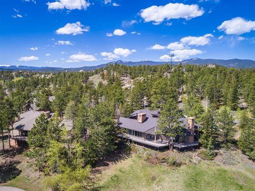 Colorado Rocky Mountain Golf : Red Feather Lakes : Larimer County : Colorado