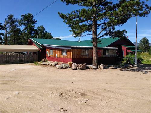 Colorado Restaurant And Bar : Red Feather Lakes : Larimer County : Colorado