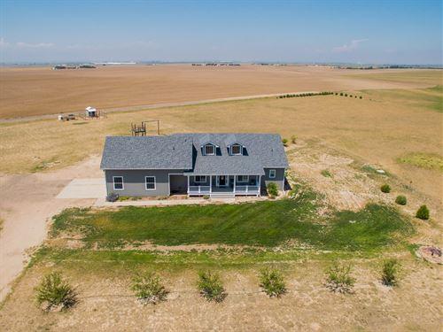 CO Country Home Farm Ranch Colorado : Roggen : Weld County : Colorado