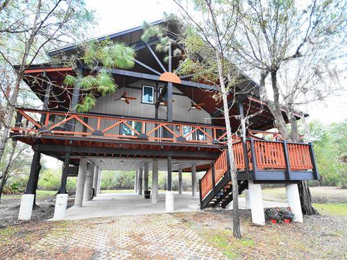 Luxury Equestrian Riverfront Estate : Arcadia : Desoto County : Florida