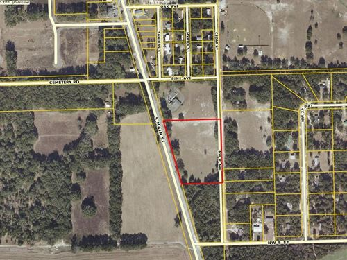 Commercial Land : Bell : Gilchrist County : Florida