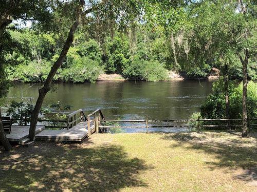 Suwannee River Getaway, Branford : Branford : Lafayette County : Florida