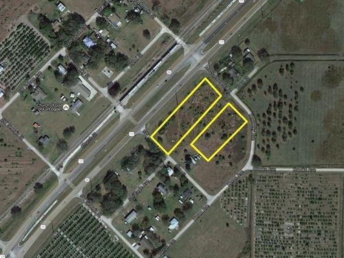 Commercially Zoned Land Arcadia, Fl : Fort Ogden : Desoto County : Florida