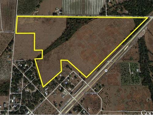 Housing Development 100 Acres : Fort Ogden : Desoto County : Florida