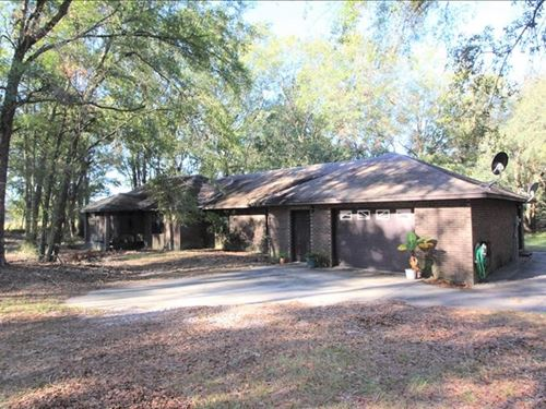 Country Home in Hamilton County, FL : Jasper : Hamilton County : Florida