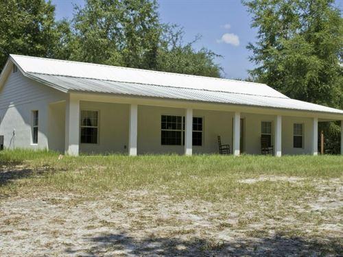 Unique North Florida Home Land : Live Oak : Suwannee County : Florida