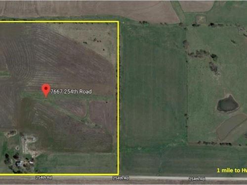 Building Site 40 Acres M/L : Effingham : Atchison County : Kansas