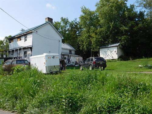 Country Home For Sale in Oldtown MD : Oldtown : Allegany County : Maryland