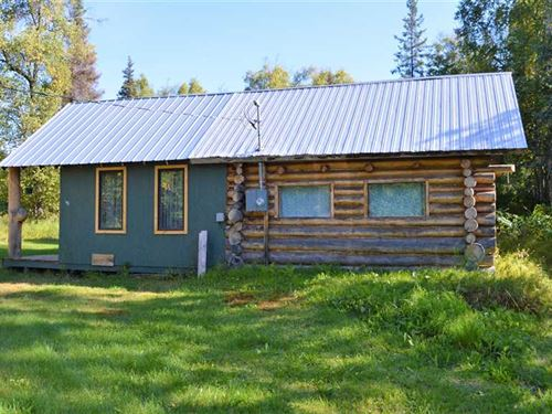 1.20 Acres, Cabin, Recreational : Trapper Creek : Matanuska-Susitna Borough : Alaska