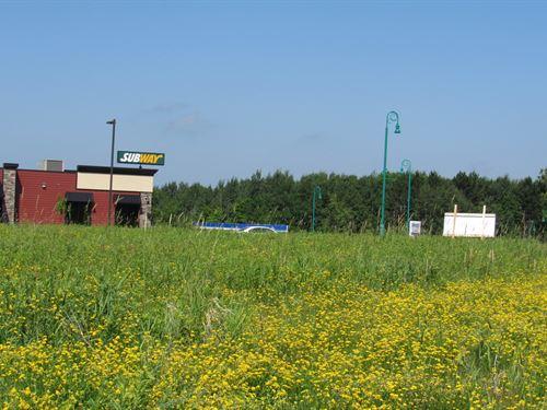 Commercial Lot Off I-35 Moose Lake : Moose Lake : Carlton County : Minnesota