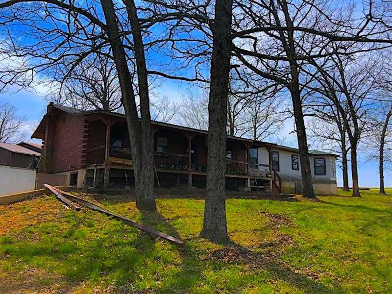 Farm Residence Oregon County : Alton : Oregon County : Missouri