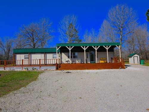 Country Home For Sale in Missouri : Alton : Oregon County : Missouri