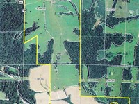 Row Crop / Pasture Farm Lake : Auxvasse : Callaway County : Missouri