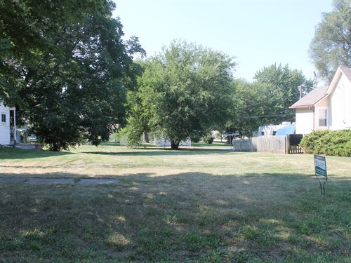 Cameron MO City Lot For Sale : Cameron : Clinton County : Missouri