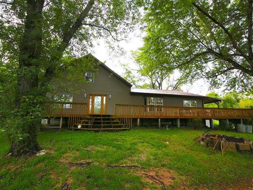 2 Homes on 77 Acres : Caulfield : Howell County : Missouri