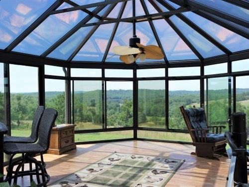 Country Home With Views of Ozarks : Drury : Douglas County : Missouri