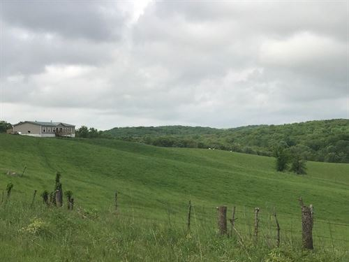 Home & 100 Acres Pasture NE MO : Ethel : Macon County : Missouri