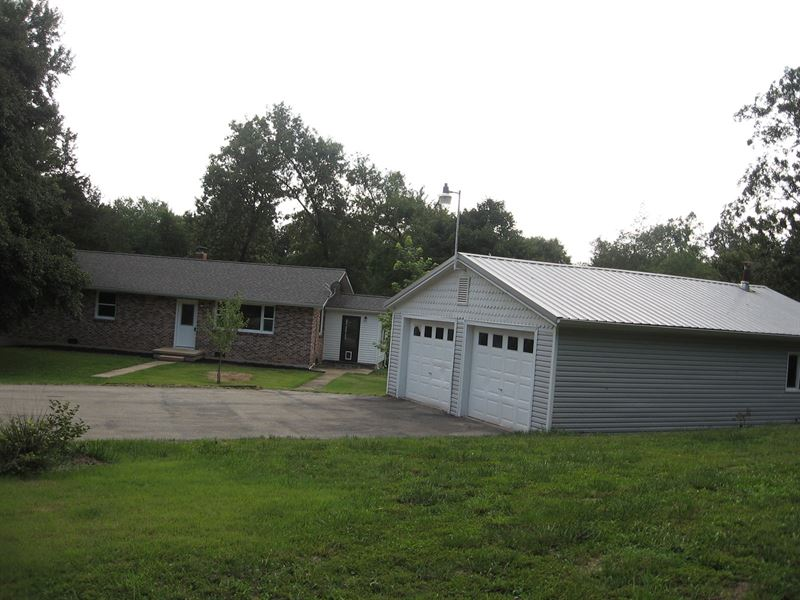 Newly Remodeled 3-Br, 1.5 Ba 3.99 : Fredericktown : Madison County : Missouri