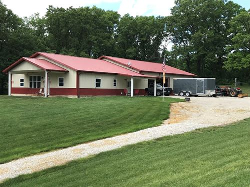 Hunting Farm Secluded Country Home : Livonia : Putnam County : Missouri