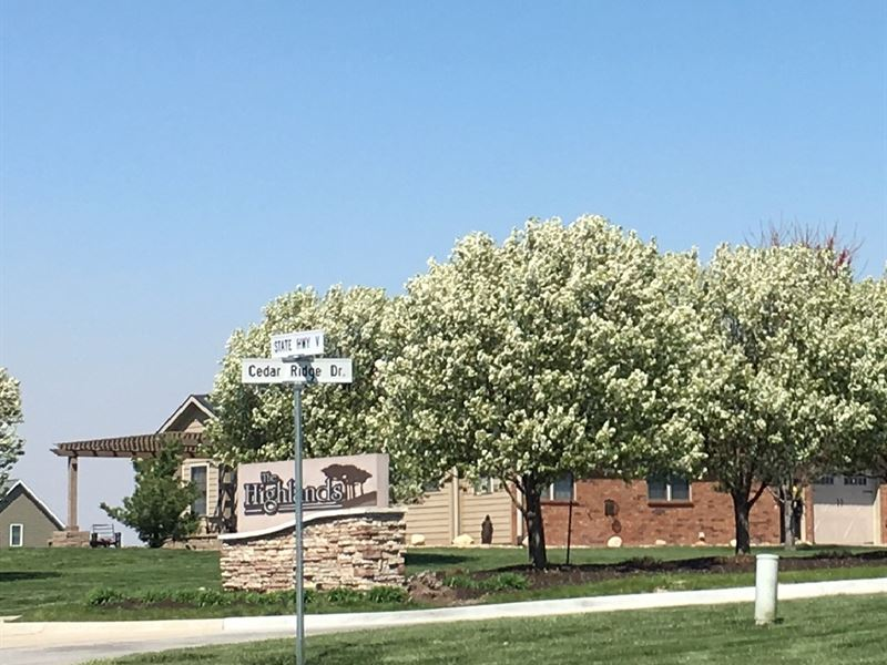 Townhome Building Lot, Maintenance : Maryville : Nodaway County : Missouri