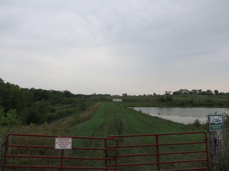 79 Acres M/L Building Site, Crp : Pattonsburg : Harrison County : Missouri
