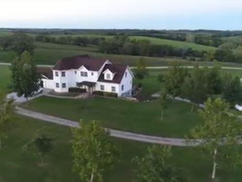 Country Home Small Acreage North : Powersville : Putnam County : Missouri