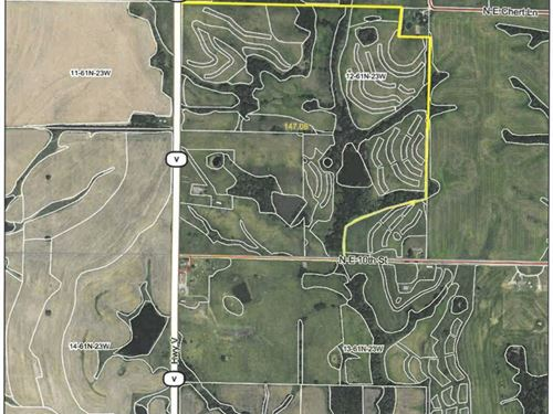 Row Crop Farm in Grundy County : Trenton : Grundy County : Missouri