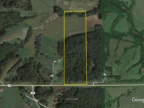 40 Acres M/L East of Unionville, MO : Unionville : Putnam County : Missouri