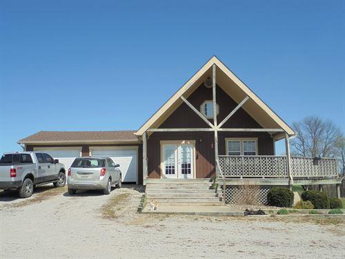 Location Country Home, 5 Acres : Kidder : Daviess County : Missouri