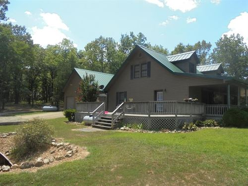 Country Home With Acreage : Koshkonong : Howell County : Missouri