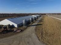 Est, Hog Farm, Row Crop & Country : Miami : Saline County : Missouri