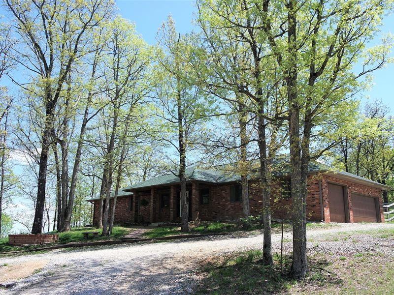 Brick Home Acreage Mountain Grove : Mountain Grove : Texas County : Missouri