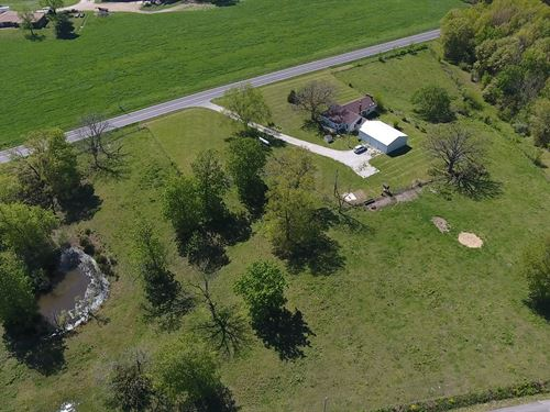 Home Acreage In Southern Missouri : Mountain Grove : Wright County : Missouri