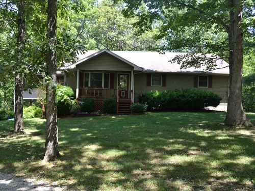 Country Home For Sale, Private : Mountain View : Howell County : Missouri