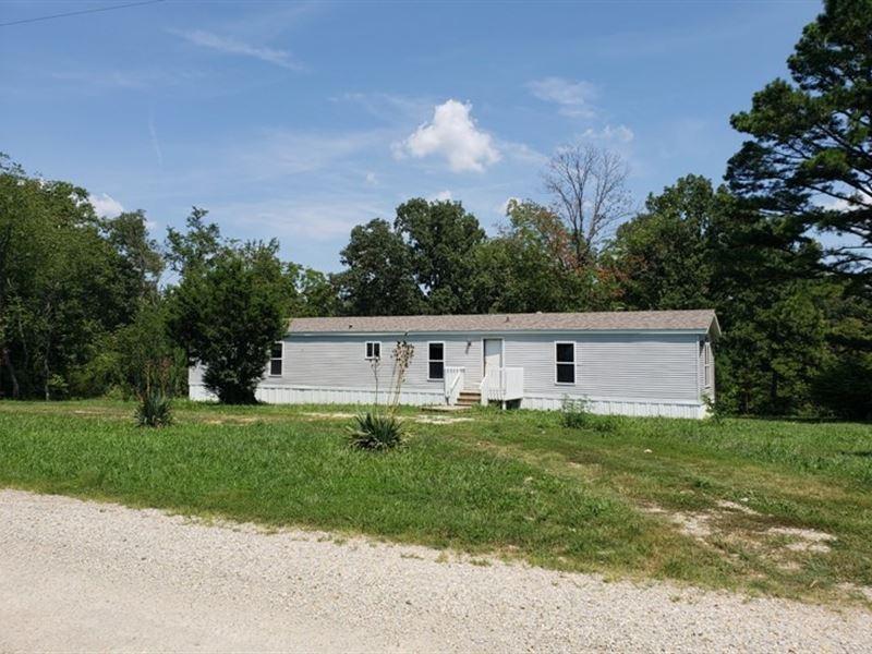 3-Bedroom 2-Bath Home 3 Acres : Pomona : Howell County : Missouri
